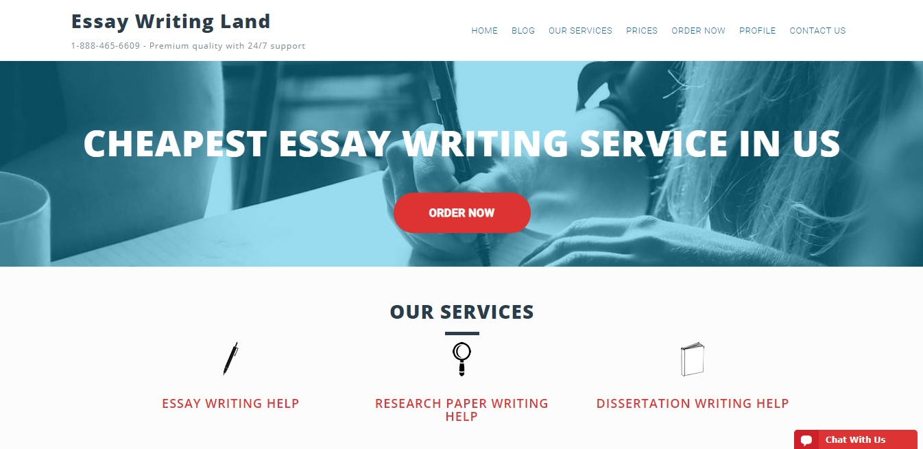 EssayWritingLand.com Review